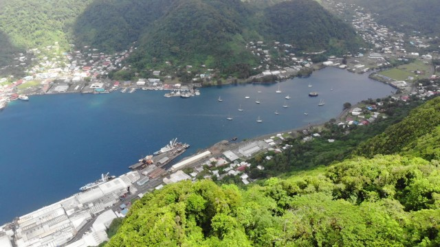 drone pago pago bay_Moment