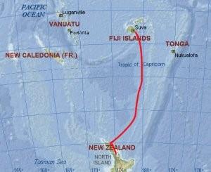 fiji to New Zealand