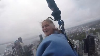 Sky Tower Bingee Jump