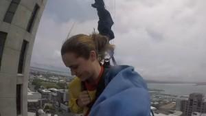sky tower bingee jump -Adrien